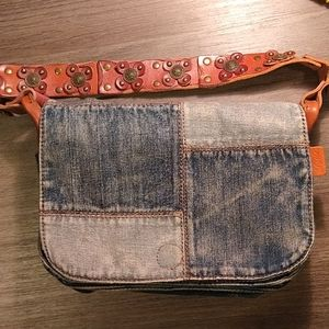 Patricia Nash Rosa Denim Bag